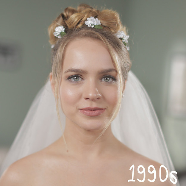 Peinados de novia en los últimos 50 años