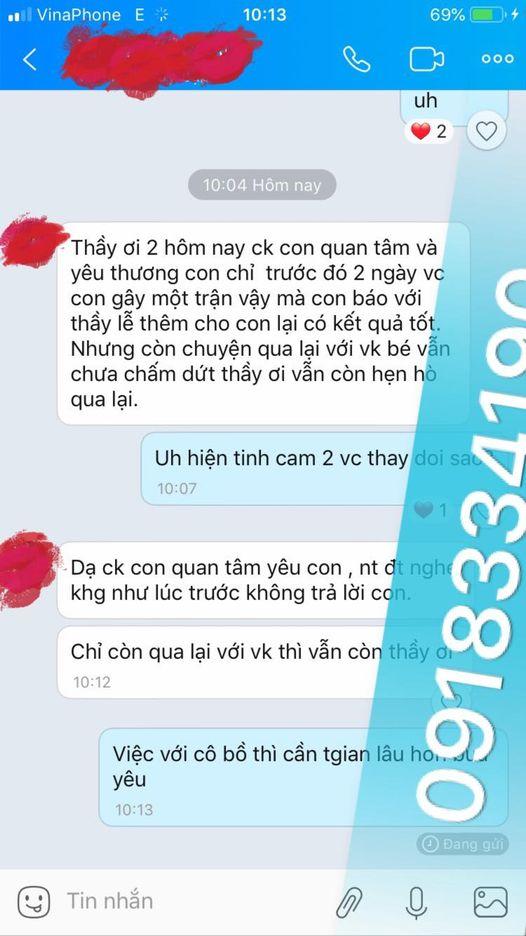Địa chỉ thầy làm bùa ngải ở Tân Sơn Phú Thọ tinh thông, linh nghiệm
