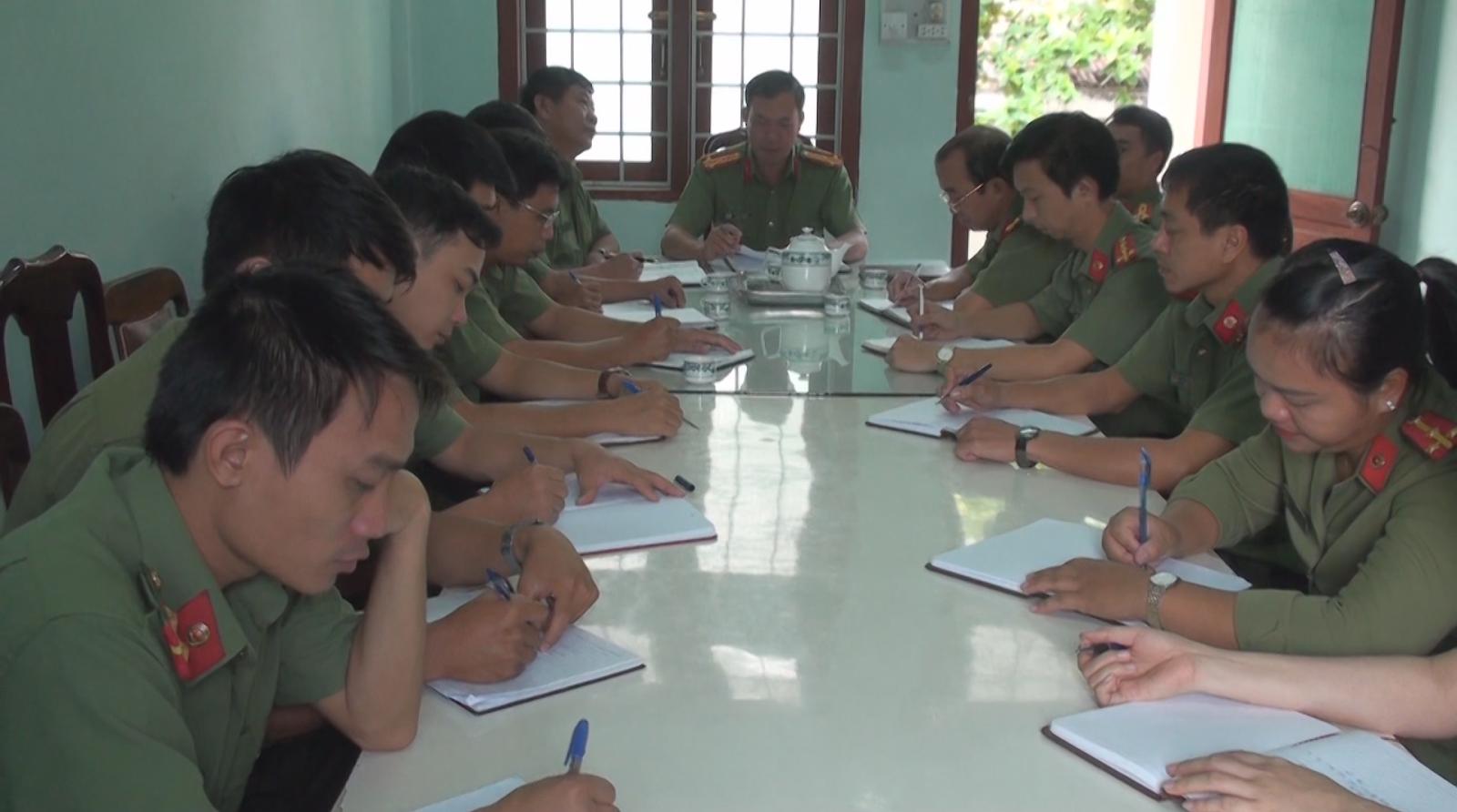 Lực lượng An ninh chính trị nội bộ vững vàng trên trận tuyến đấu tranh phòng chống tội phạm