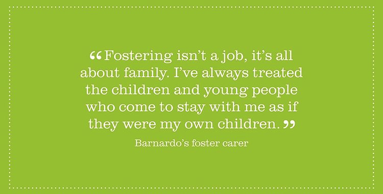 Image of quote from Barnardo's