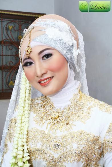 foto pengantin akad